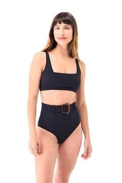 Imagen de Cancún - Bikini Tiro Alto con Cinto Negro