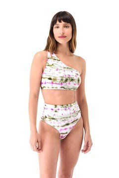 Imagen de New York - Bikini un Hombro Esponja Batik